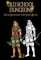 Your drawings for you book : RANGER ELF