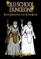 Your drawings for you book : DRUID