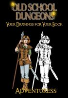 Your drawings for you book : ADVENTURESS