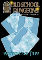 Old School Dungeons : Winter cave Tile