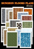 Dungeon Floors Plans