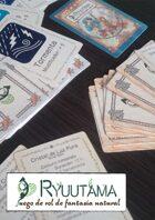 Ryuutama - Cartas de terrenos, climas y encantamientos
