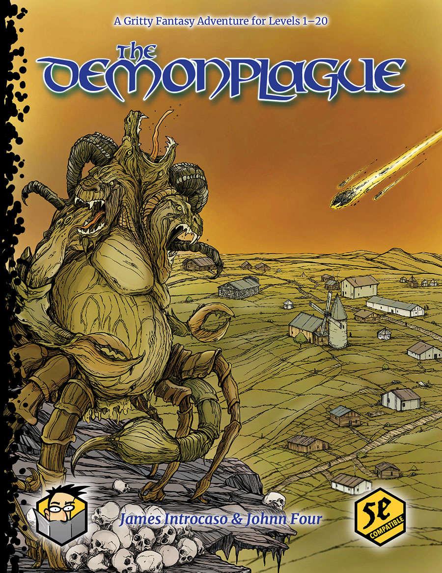 Cover of The Demonplague Part 1: The Frozen Necromancer