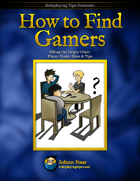 How to Find Gamers => Filling the Empty Chair