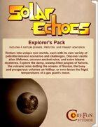 Solar Echoes: Explorer's Pack