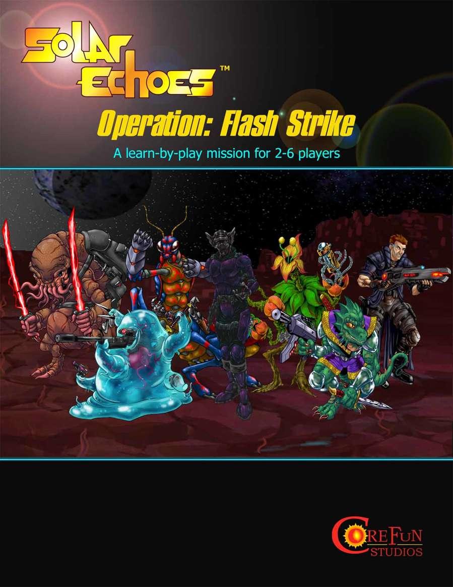 FREE Solar Echoes Demo, Operation: Flash Strike