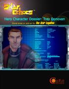 FREE Hero Character Dossier: Trey Donovan