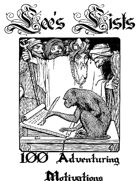 100 Adventuring Motivations
