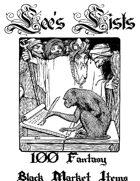 100 Fantasy Black Market Items