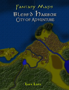 Fantasy Maps: Bless'd Harbor