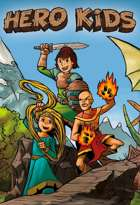 Hero Kids - Supplement - Coloring Book - Threats to the Brecken Vale