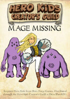 Hero Kids - Fantasy Adventure - Mage Missing