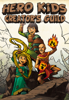Hero Kids - Creator's Guild - Fantasy Adventure - Français - Incendie à Borderive