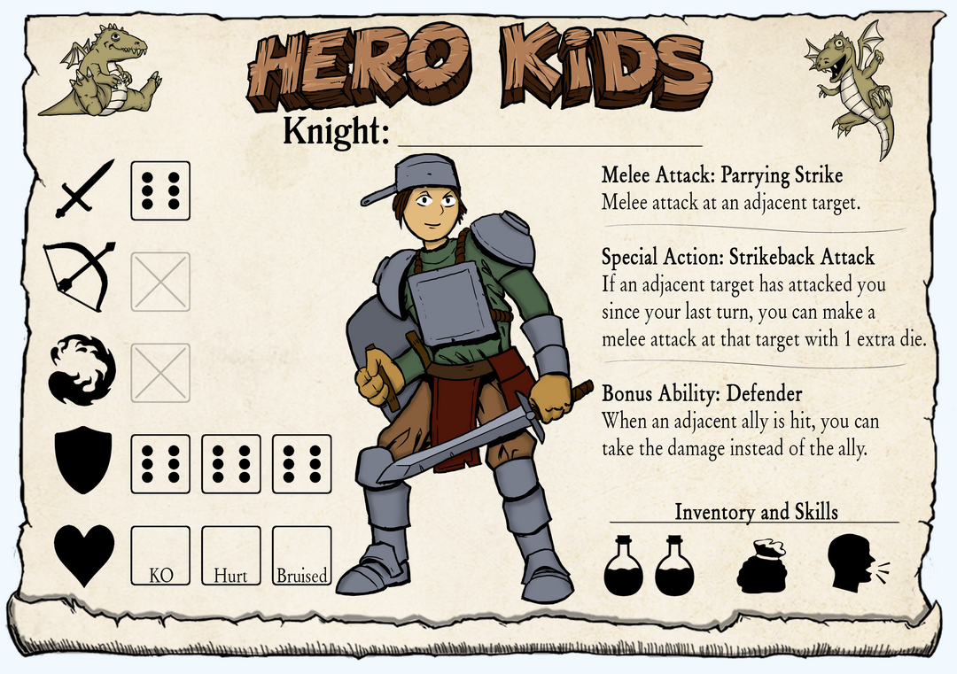 Hero Kids - Hero Card