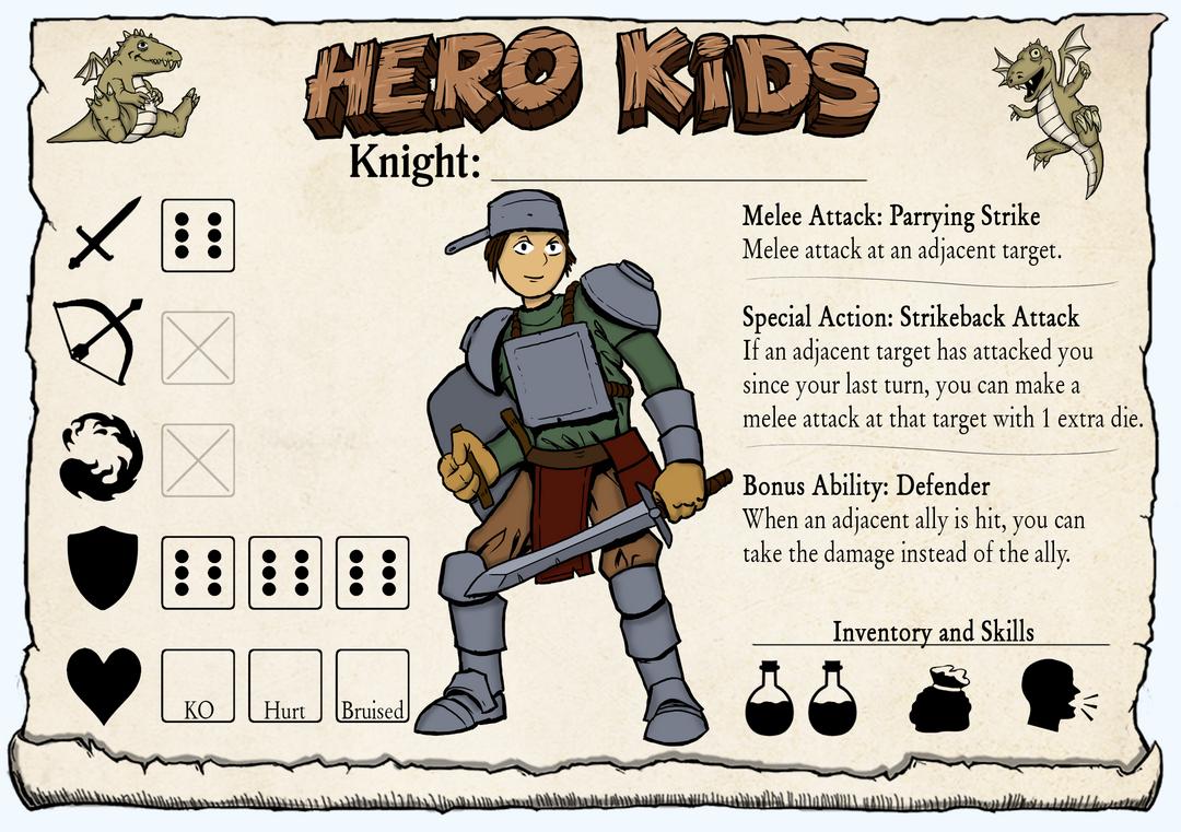 Hero Kids - Hero Card