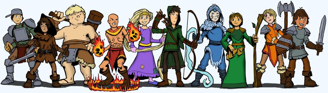 Hero Kids - Line-Up