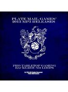 Plate Mail Games' 2013 Complete Pro Mp3 Releases  [BUNDLE]