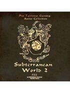 Pro RPG Audio: Subterranean World 2