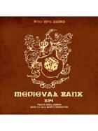 Pro RPG Audio: Medieval Bank