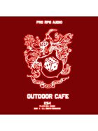 Pro RPG Audio: Outdoor Cafe