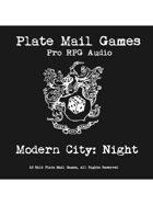Pro RPG Audio: Modern City: Night