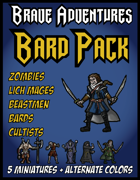 Brave Adventures Bard Adventure Pack