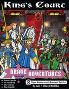 Brave Adventures - King's Court Printable Chess Set