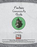 Fantasy Community Guide: Hamlets, Thorps & Villages