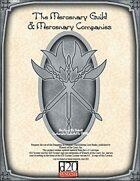The Mercenary Guild & Mercenary Companies