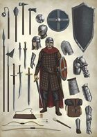 Lema's Stock Art #5: Medieval Equipment 1