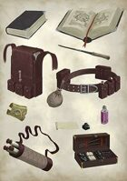 Lema's Stock Art #6: Medieval Equipment 2