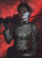 """Lema Stockart #26: Portrait """"Red Viper"""""""