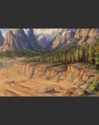 "Lema Stockart #32: Landscape ""Convergence"""