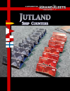 Grand Fleets: Jutland Ship Counters