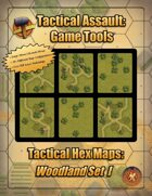 Tactical Hex Map-Woodland Set I