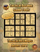 Tactical Hex Map-Desert Set I