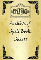 Libramicon - Archive of Spell Sheet