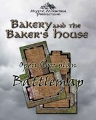 Battlemap - Bakery & Baker's House