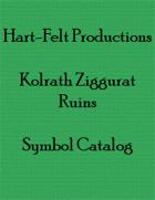 Kolrath Ziggurat Ruins Symbol Catalog