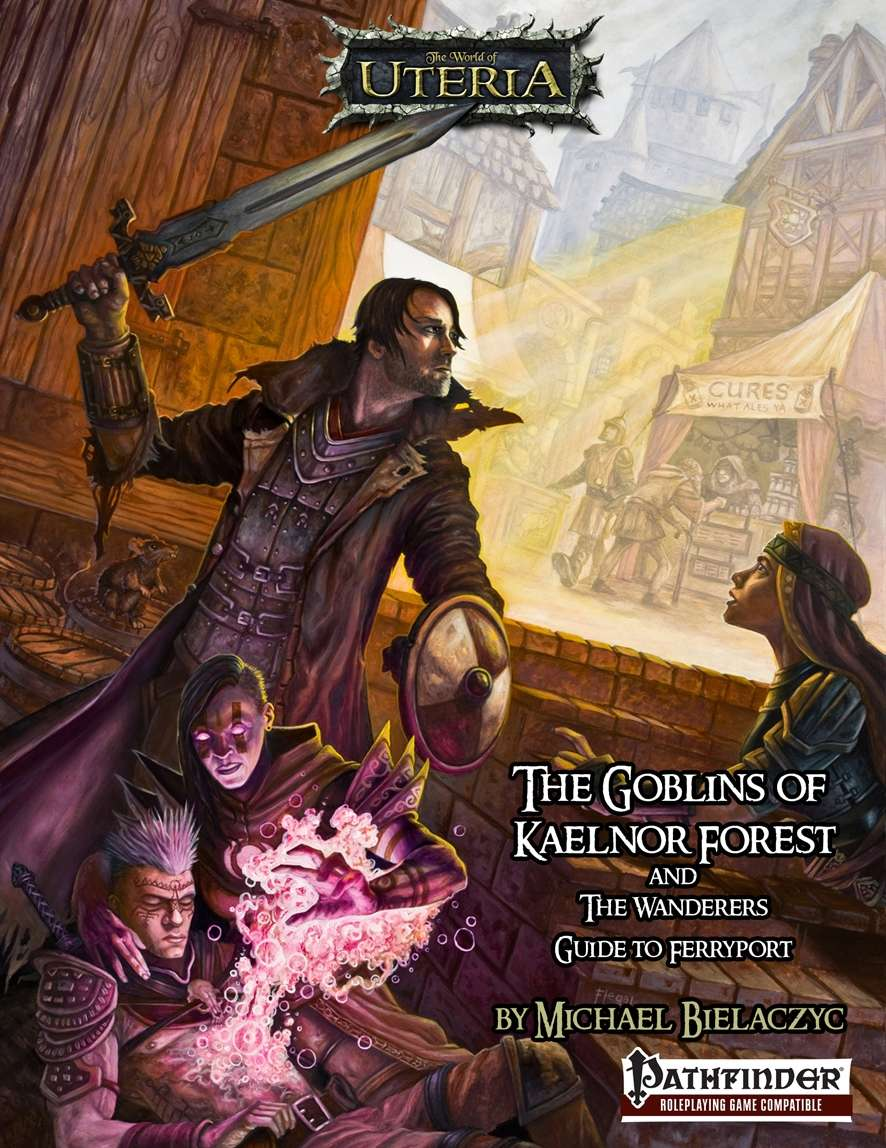 Cover of The Goblins of Kaelnor Forest