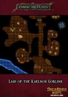 Map - Lair of the Kaelnor Goblins