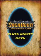 SagaBorn Class Cards (Printed Deck)