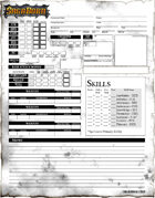 SagaBorn Roleplaying Game Character Sheets
