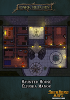 Map - Eluiska Manor a Haunted House