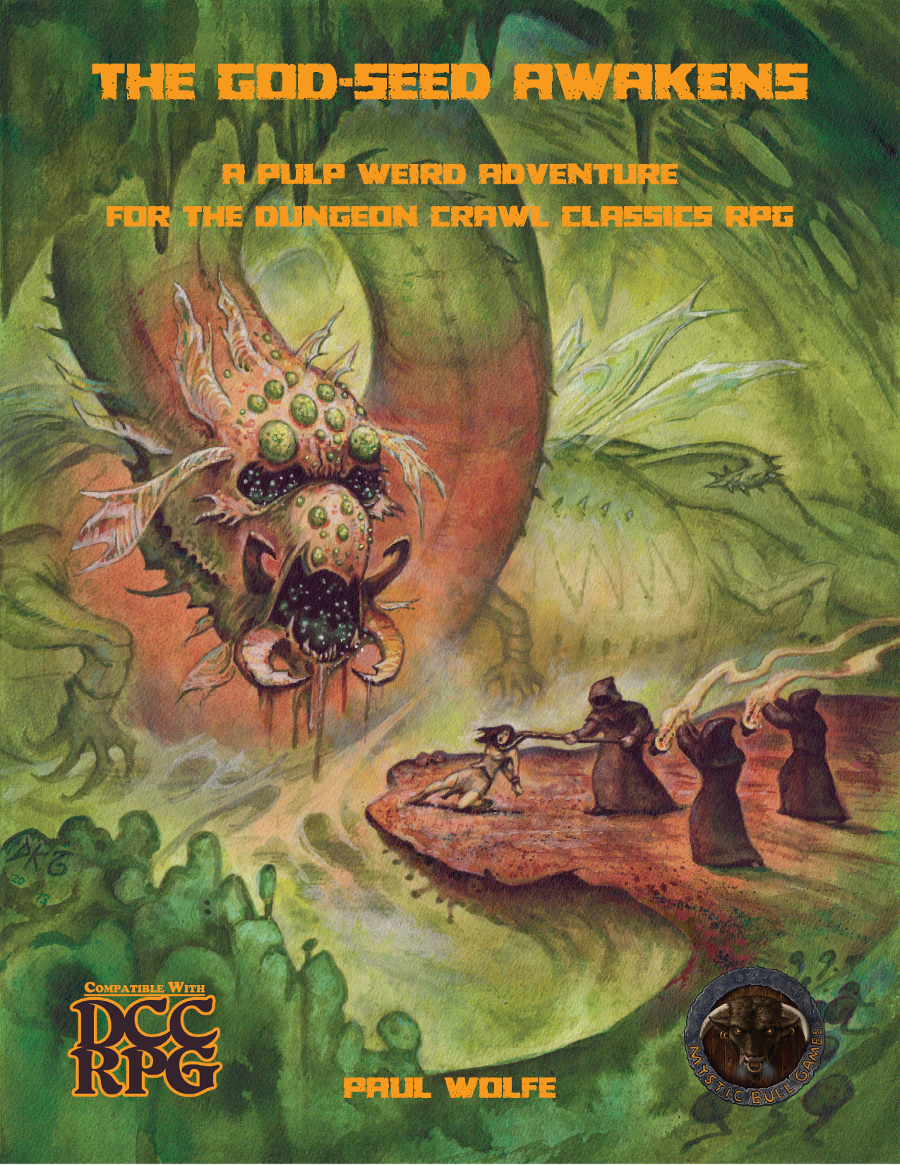 Cover of The God-Seed Awakens