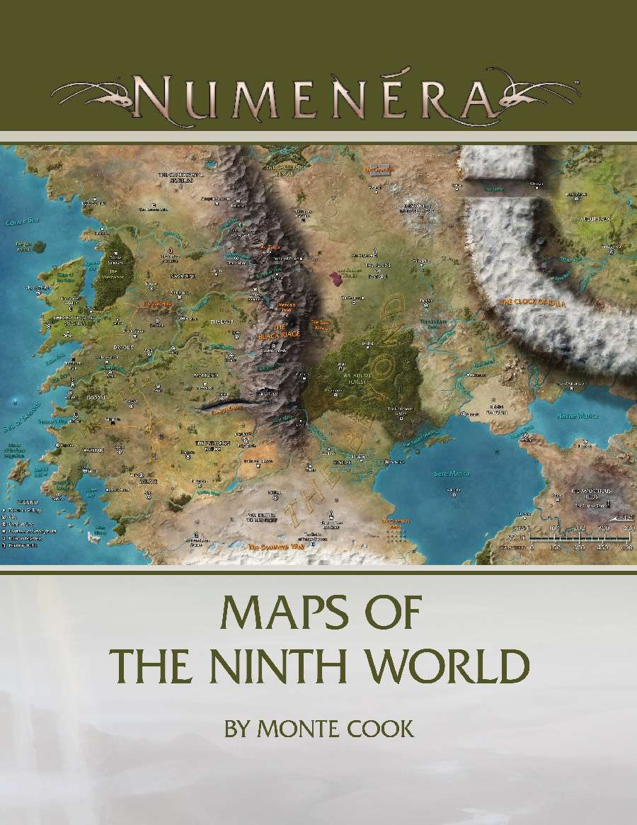 Maps of the Ninth World   Monte Cook Games | Numenera
