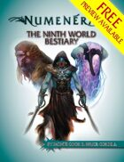 The Ninth World Bestiary FREE PREVIEW