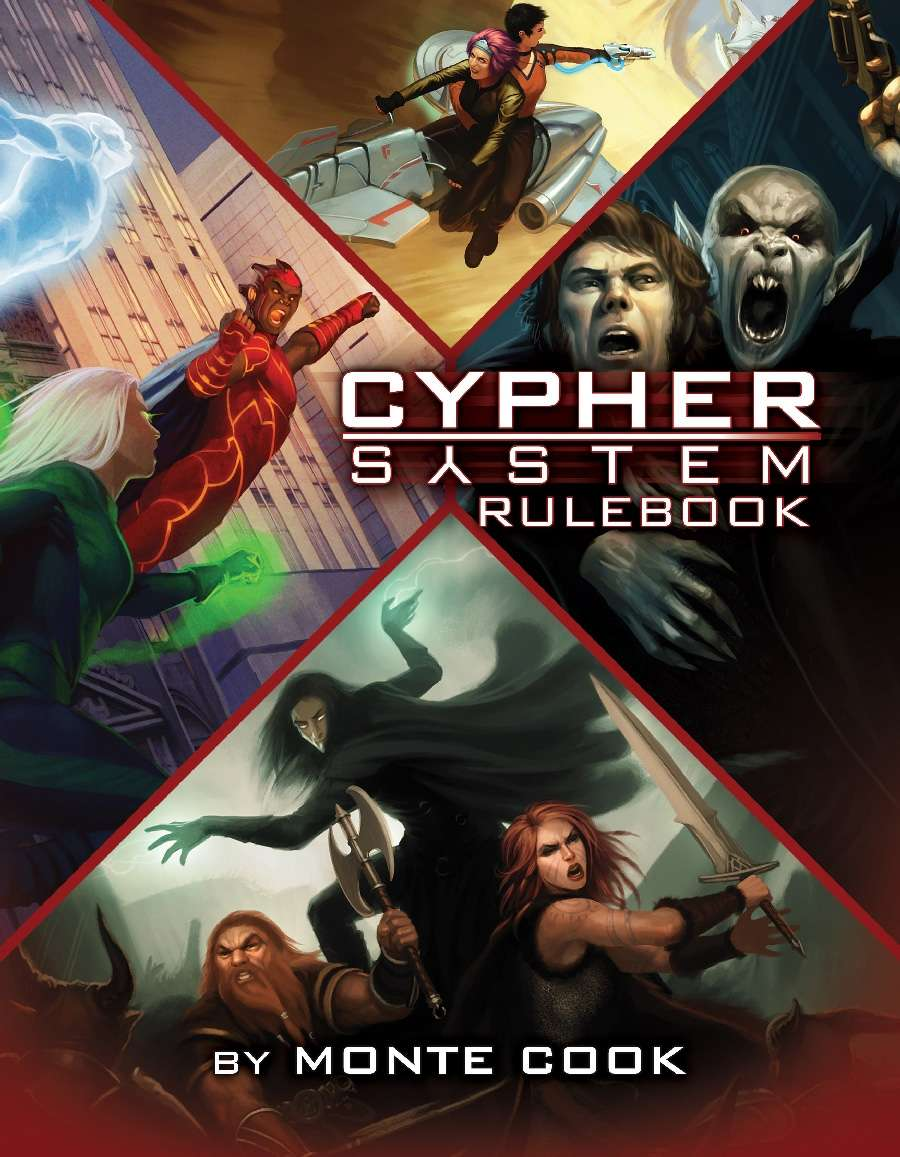 Cypher System Rulebook PREORDER