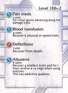 Pain Meds - Custom Card