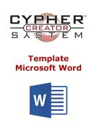 Cypher System Creator Resource - Word Template